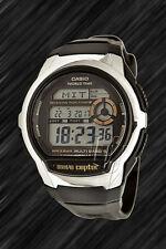 Casio Wave Ceptor FUNKUHR,WV-M60-9A, Weltzeit, Illuminator, Sportuhr,
