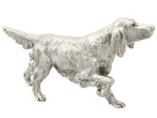 More details for sterling silver model of an irish setter by bse products - contemporary 2011