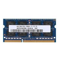 4GB HYNIX DDR3L SO。DIMM RAM 1600 Mhz HMT451S6BFR8A-PB PC3L-12800S Notebook 1.35V