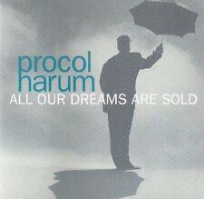 PROCOL HARUM All Our Dreams are Sold CD SINGLE RARE PROMO 1991