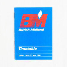 Collectable Airline Timetables for sale | eBay