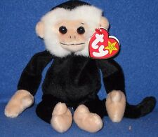 TY MOOCH THE MONKEY BEANIE BABY - MINT with MINT TAGS