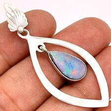 Australian Opal 925 Sterling Silver Pendant Jewelry PP56343