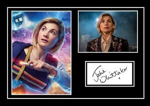 JODIE WHITTAKER DOCTOR WHO  SIGNED / AUTOGRAPHED