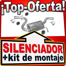Silenciador intermedio SKODA OCTAVIA II VW GOLF V VW JETTA A5 115HP Escape ANB