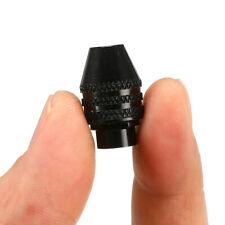 0.3-3.2mm Keyless Mini Chuck Drill M8 For Dremel Grinder Shaft Rotary Tool Black