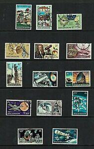 Ascension Island: 1971, Evolution of Space, definitive series,  FU set