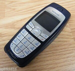 Nokia 6010 - Silver / Blue (Cingular) Cellular Bar Phone ONLY **READ** Parts
