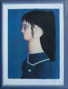 Antonio Bueno litografia D'Apres Picasso 80x60 firmata numerata pubblicata