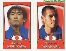 263 NISHIZAWA - NAOHIRO TAKAHARA JAPAN STICKER MERLIN WORLD CUP ENGLAND 2002