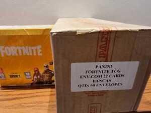FORTNITE SERIES 1 TRADING CARDS HOBBY BOX SEALED CASE 5 PREMIUM BOXES 60 PACKS