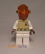 Lego Admiral Ackbar from Sets 7754 Home One + 75003 A-wing Starfighter NEW sw247