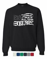 Donald Trump Flag MAGA Sweatshirt Make America Great Again Sweater
