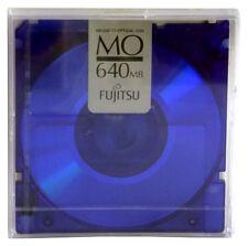 FUJITSU �†' Magneto-Optical Disk  �†' MO 640MB �†' Precintado Individual �†' Azul Oscuro