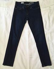 Gap Blue Jeans Pants Womens Sz 26 R Real Straight *