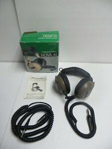 Vintage Realistic Nova 40 Hi Fi Stereo Headphones CAT 33-993 - NEW