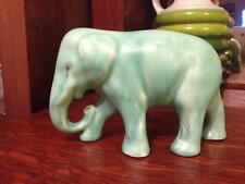 Vintage american pottery elephant figurine approx 1940s