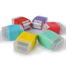 Office Plus Guard Your ID Roller Stamp SelfInking Messy Code Security Stamp Blue