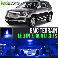 2010-2017 GMC Terrain Blue LED Lights Interior Kit