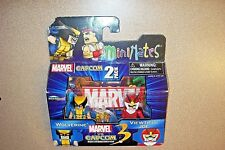 Minimates Marvel vs Capcom Wolverine vs Viewtiful Joe - New
