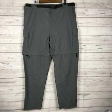 NWT MAGELLAN OUTDOORS breathable//water resistant black Men/'s Twill Ski Pants,S,M