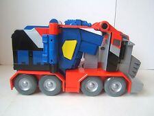 Transformers Optimus Prime Battle Blasts Gun Semi Truck 2007 Hasbro Tested Works