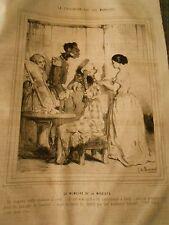 Litho 1843 - Civilisation aux Iles Marquises La Mémoire de la modiste
