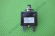 Coleman Powermate Gas Generator Circuit Breaker 30A 125V 250VAC 50/60Hz 0049382
