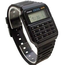 Ca-53w-1z Black Casio Watch Retro Calculator Top Ca53 Classic
