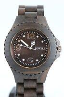 Bewell Holzuhr Damenuhr Herrenuhr 41mm Sandelholz Ausgesuchte Tracht Armbanduhr