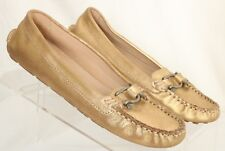 Sperry Top-Sider 90826 Jenna Gold Driving Moccasins Ballet Flats Women's US 6.5M