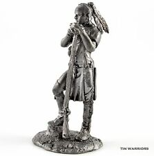 *USA. Indian - Mohawk* Tin toy soldiers 54mm miniature figurine. metal sculpture