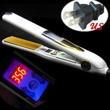Titanium PROFESSIONAL Vibrating Massage Hair Straightener The Best Flat Iron US