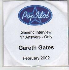 (CH488) POP Idol, Gareth Gates - 2002 DJ CD