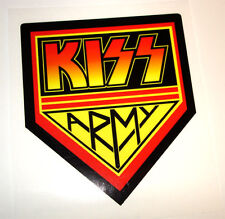 KISS ARMY rock band decal sticker