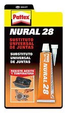PATTEX NURAL 28 - SUBSTITUTO UNIVERSAL DE JUNTAS RESISTE TEMPERATURA Y AL ACEITE