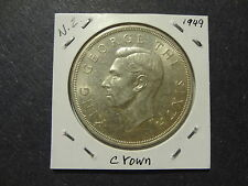 NEW ZEALAND 1949 1 CROWN, SCARCE TYPE, CHOICE UNC++ TO GEM UNC !