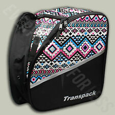 Transpack Edge Ski/Snowboard Boot and Helmet JR Gear Backpack-Aztec (NEW)