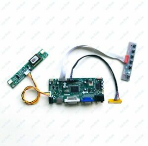 For M156XW01 V0 1366*768 LVDS 30-Pin monitor 2CCFL LCD screen driver board kit