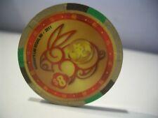 $8 HARRAH'S 2011 CHINESE LUNAR YEAR of The RABBIT LAS VEGAS CASINO POKER CHIP