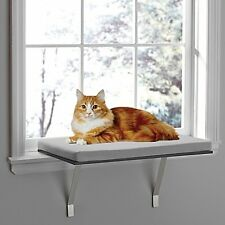 Pawslife Deluxe Window Cat Perch Indoor Mounted Hanging Shelf Sleep Cushion Bed