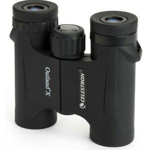 Celestron Outland X 10 x 25 Compact Binoculars in Black  #71341 (UK Stock)  BNIB