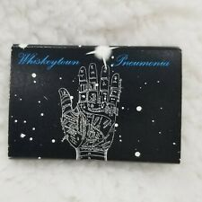 Vintage 2001 Whiskeytown Pneumonia Promo Matches Matchbook Ryan Adams Unused