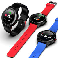 Microwear Waterproof Smart Camera Watch Blood Pressure Heart Rate Wrist Band