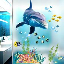 Impresionante submarino primer plano Tortuga y peces de arrecife Pegatinas de pared 36148807