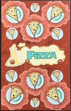 Dr. Stinky's Scratch & Sniff Stickers - Pizza - Mint Condition!!