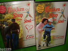 "CHICKEN SOUP FOR THE SOUL ""LOVE"" & ""PARENTING"" 2-PK DVD SET, Vol.1 & 2, NEW"