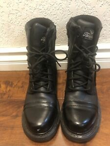 Thorogood Boots Black Leather US Size 6.5 M / 8.5 W US