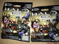 Mega Bloks Halo Wars Delta Series, Aveugles Sac, Neuf et uopened X2