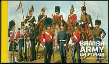 ENGELAND POSTZEGELBOEKJE 154 UIT 2007 UNIFORMEN DER ROYAL ARMY.